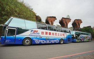 苗栗觀光巴士啟航 旅客遊苗栗更加便利