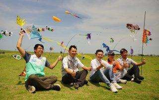 2020新竹市國際風箏節周末登場 16米飛龍、夜光風箏、特技劇場秀 綻放漁港天空
